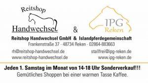Sonderverkauf jeden 1. Samstag im Monat @ Reitshop Handwechsel | Reken | Germany
